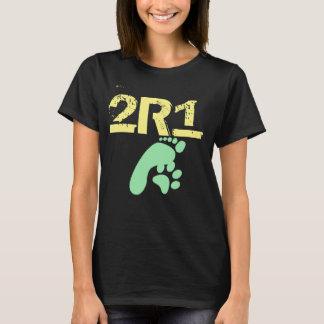 (2 especies 1 pensadas) diseño original 2R1 Camiseta