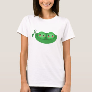 2 GUISANTES en una VAINA - camiseta
