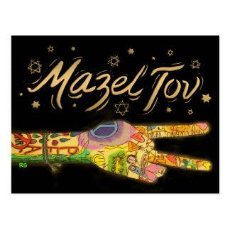 #2 paz - Mazel Tov - invitación - SRF Postal