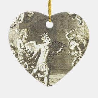 2.png religioso extraño adorno de cerámica en forma de corazón