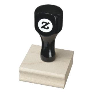 """2"""" x 2"""" sello de madera del arte"""