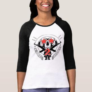 2A (segunda enmienda) Est. El raglán de 1776 Camiseta