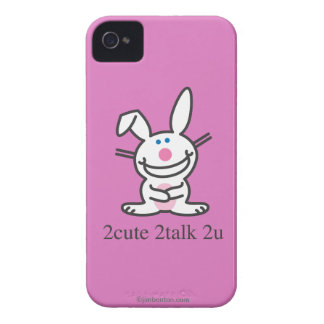 2cute 2talk 2u funda para iPhone 4