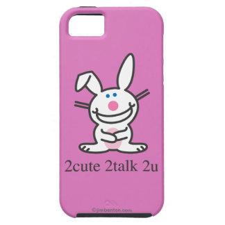 2cute 2talk 2u iPhone 5 cárcasas