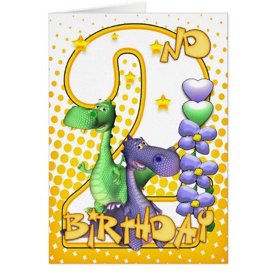 2da tarjeta de cumpleaños de los gemelos -