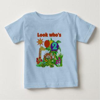 2das camisetas y regalos del cumpleaños del safari