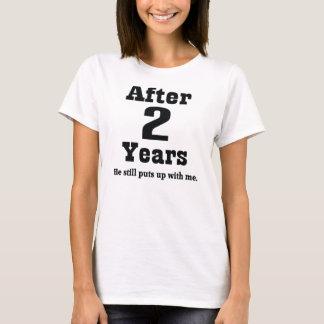 2do Aniversario (divertido) Camiseta