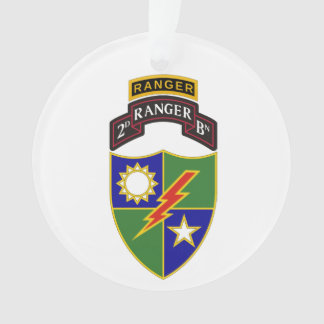 2do batallón - 75.o ornamento del guardabosques