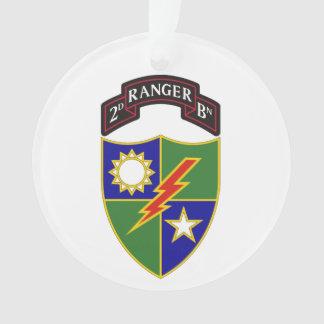 2do batallón - 75.o ornamento del regimiento de