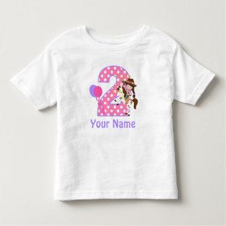 2do Camiseta personalizada vaquera del chica del