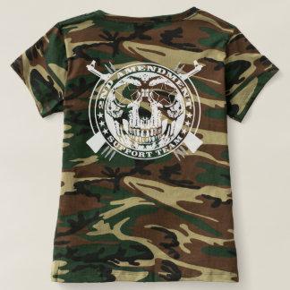 2do Camuflaje del equipo de ayuda de la enmienda Camiseta