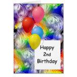 2do cumpleaños feliz felicitaciones
