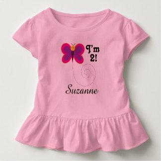 2do Cumpleaños soy camiseta de 2 chicas de la