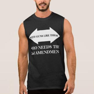 2do Enmienda Camiseta Sin Mangas