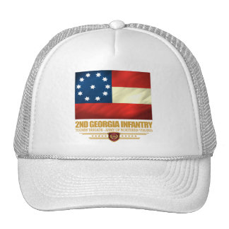 2do Infantería de Georgia Gorras