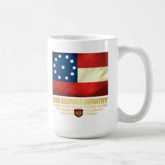 2do Infantería de Georgia Taza De Café