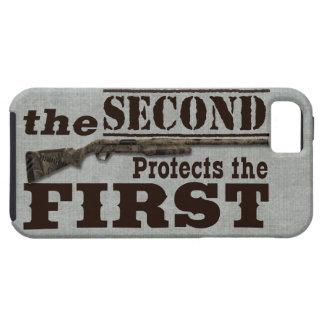 2do La enmienda protege la 1ra enmienda iPhone 5 Funda