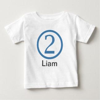2do Muchacho adaptable de la camiseta del