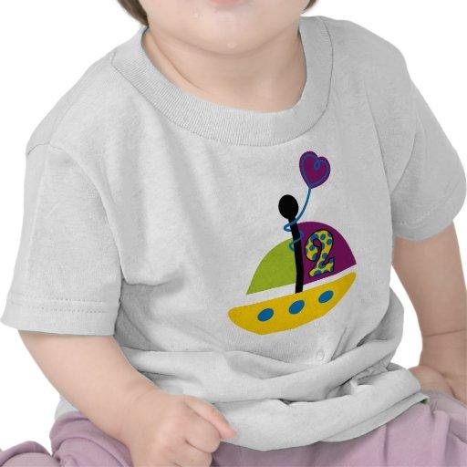 2do Velero del cumpleaños Camisetas