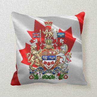 [300] Escudo de armas de Canadá [3D] Cojín