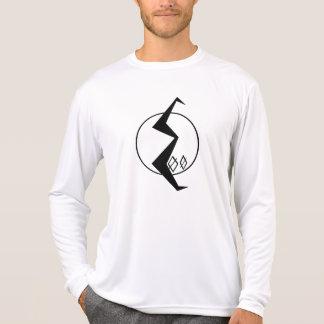 300 voltios de logotipo camiseta