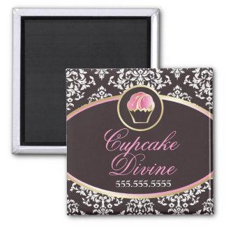311-Cupcake adivinan el sólido Imán Para Frigorífico