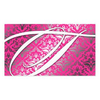311 deslúmbreme damasco - chisporroteo del rosa tarjetas de visita