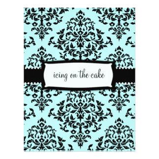 311-Icing en la torta algo etiqueta de dirección a Flyer Personalizado