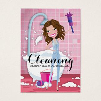 311 servicios de limpieza tarjeta de negocios