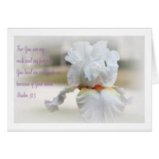 31:3 del salmo tarjeta