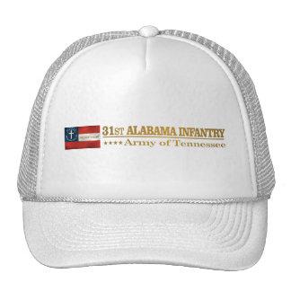 31ro Infantería de Alabama (BA2) Gorra