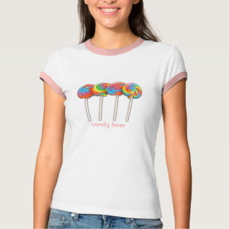 32065-TeenyRoundPop [1], amante del caramelo Camiseta