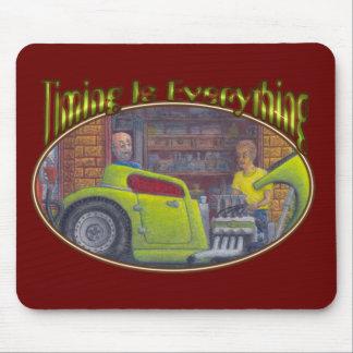 32 barra caliente del cupé de la ventana de Ford t Alfombrillas De Ratón