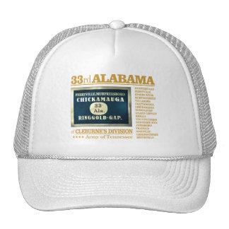 33ro Infantería de Alabama (BA2) Gorra