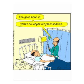348 no más un dibujo animado hipocondriaco del postal