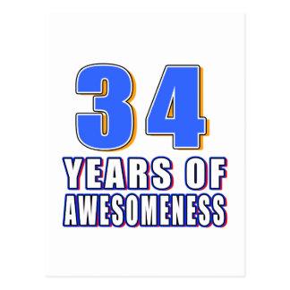 34 años de Awesomeness Postal