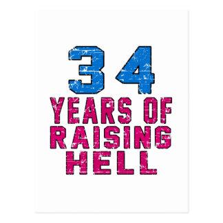 34 años de infierno de aumento postal