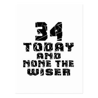 34 hoy y ningunos el más sabio postal