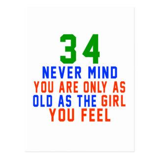 34 nunca importan de usted son solamente tan postal