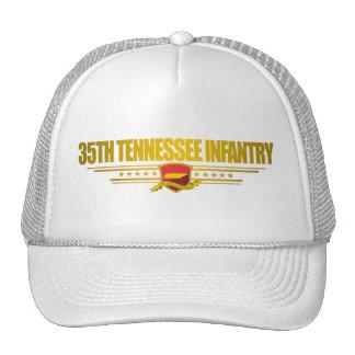 35to Infantería de Tennessee Gorros