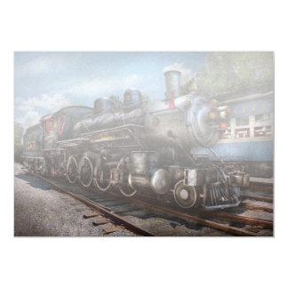 385 - Tren - vapor - 385 restaurados completamente Invitacion Personalizada