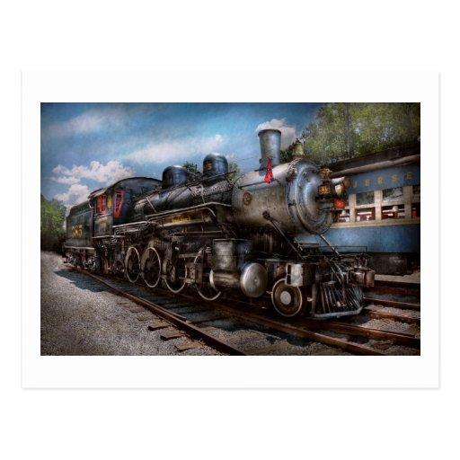 385 - Tren - vapor - 385 restaurados completamente Tarjetas Postales
