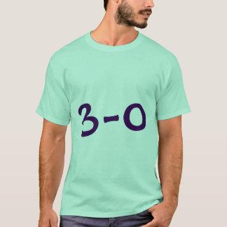3 - 0 camisas camiseta