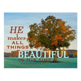 3:11 de Ecclesiastes toda la postal hermosa de las