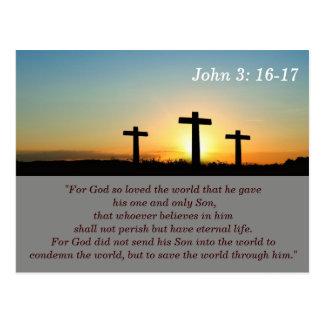 3:16 de Juan - tarjeta de memoria de 17 escrituras