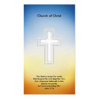 3:16 de Juan - tarjeta de visita cristiana
