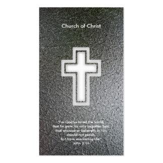 3 16 de Juan - tarjeta de visita cristiana