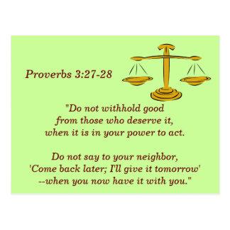 3:27 de los proverbios - tarjeta de memoria de 28