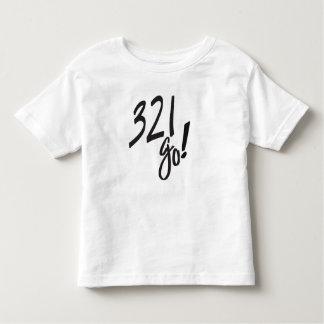 """""""3,2,1 van!"""" Camiseta suave del niño"""