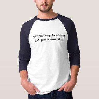 3/4 camiseta básica para hombre del béisbol de la